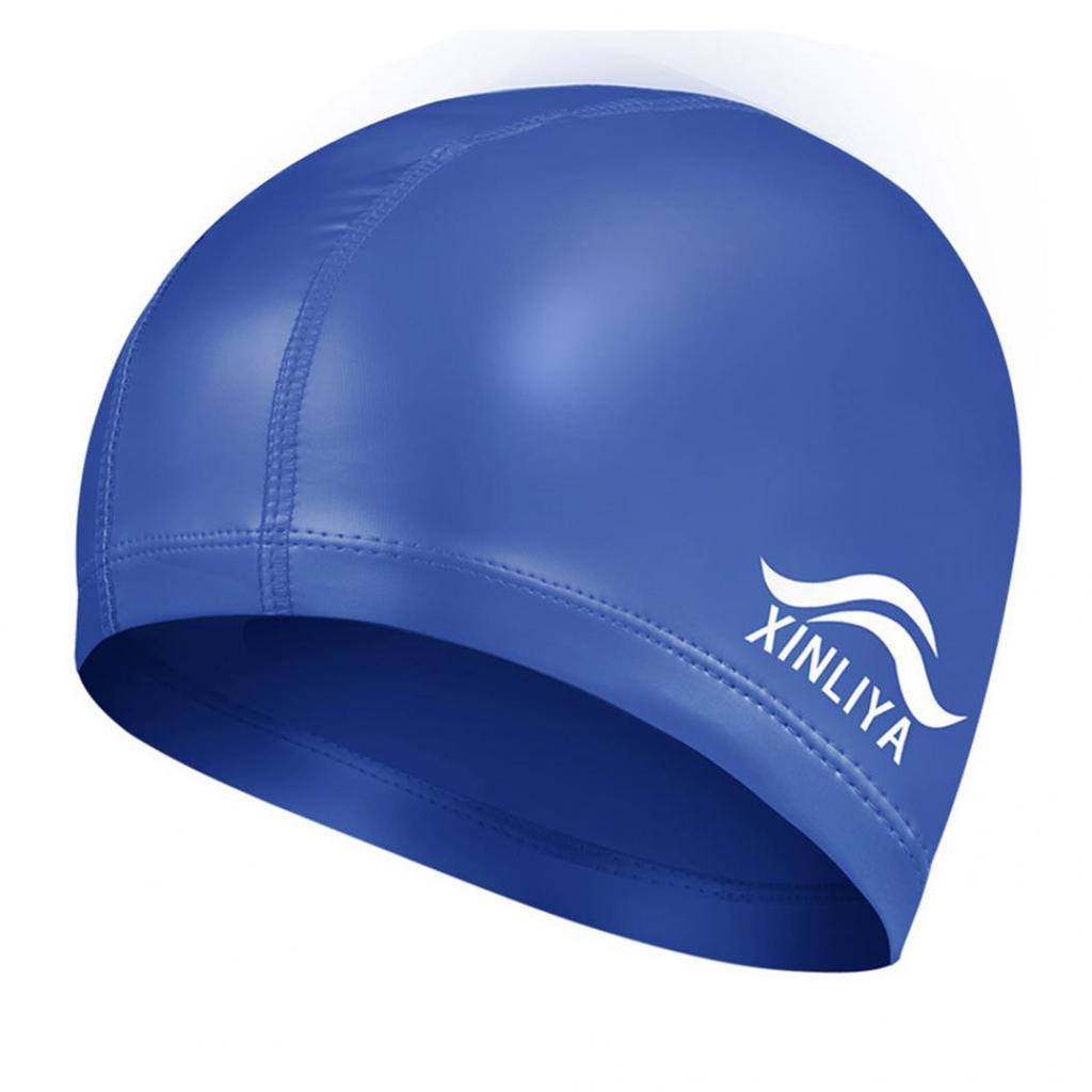 Flexible Adults Swim Hat Pool Swimming Bathing Caps Protect Ears Beach Style