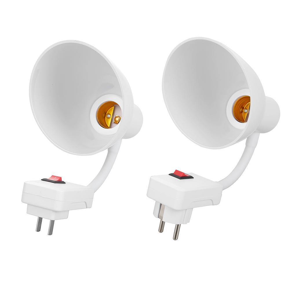 E27 Extension Adapter Bulb Lamp Holder LED Light Flexible Converter Screw Socket