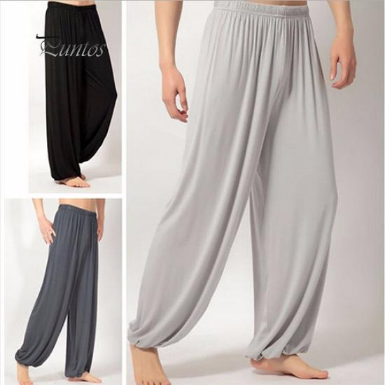 7702aebdcc9a0 Jogger Baggy Trouser Jumpsuit Harem Yoga Pants Bottom Slacks-buy at ...