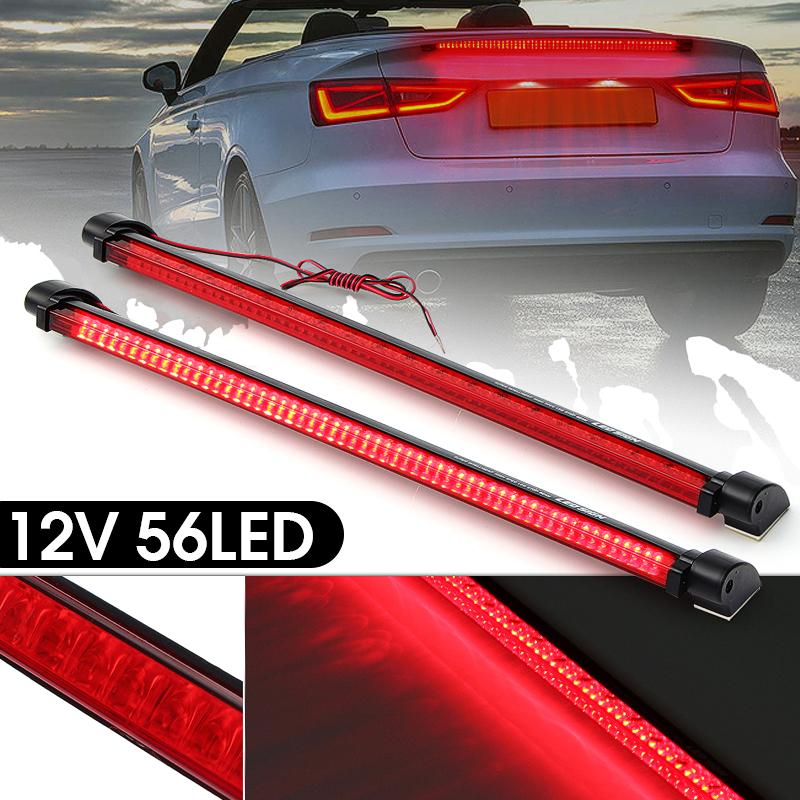 New Universal 12V// 56LED Red Car High Mount Third 3RD Brake Stop Tail Light Lamp