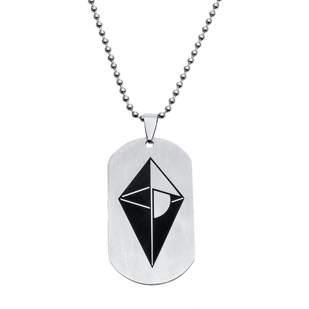 Jewelry Rock Titanium Steel Punk Spear Pendant Necklace、 Arrow Choker Vintage
