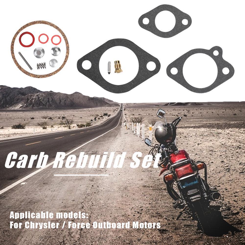 Carb Rebuild Set for Chrysler//Force Outboard Motor 9.9 15 75 85 105 120 HP