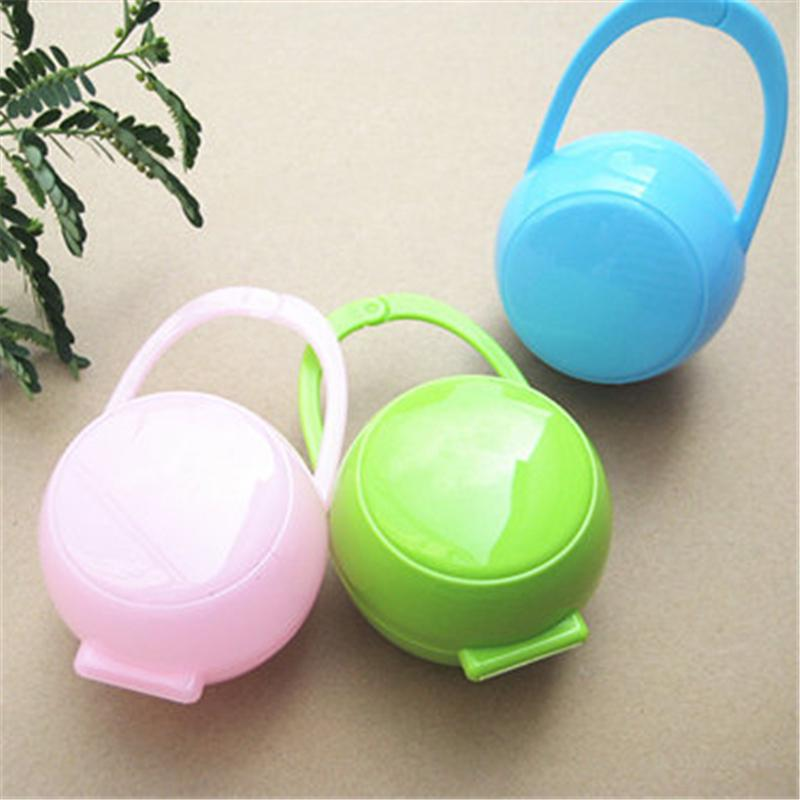 MagiDeal 2pcs Infant Dummy Pacifier Soothers Storage Case Travel Box Holder for Baby