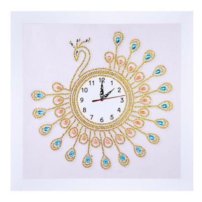 Novelty Clock DIY 5D Diamond Painting Special Drill Embroidery for Beginners