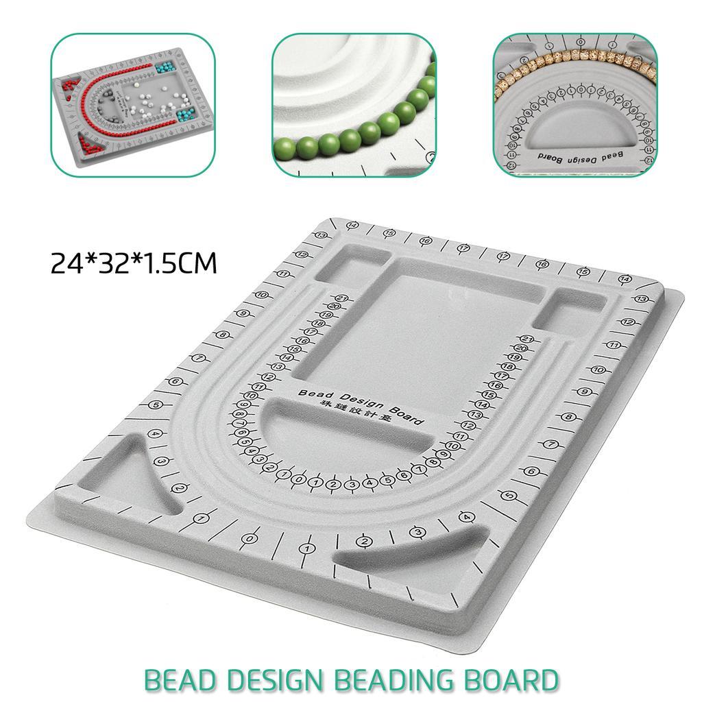 Bead Board Necklace Beading Jewelry Organiser Tray Design DIY Craft Tool NEW