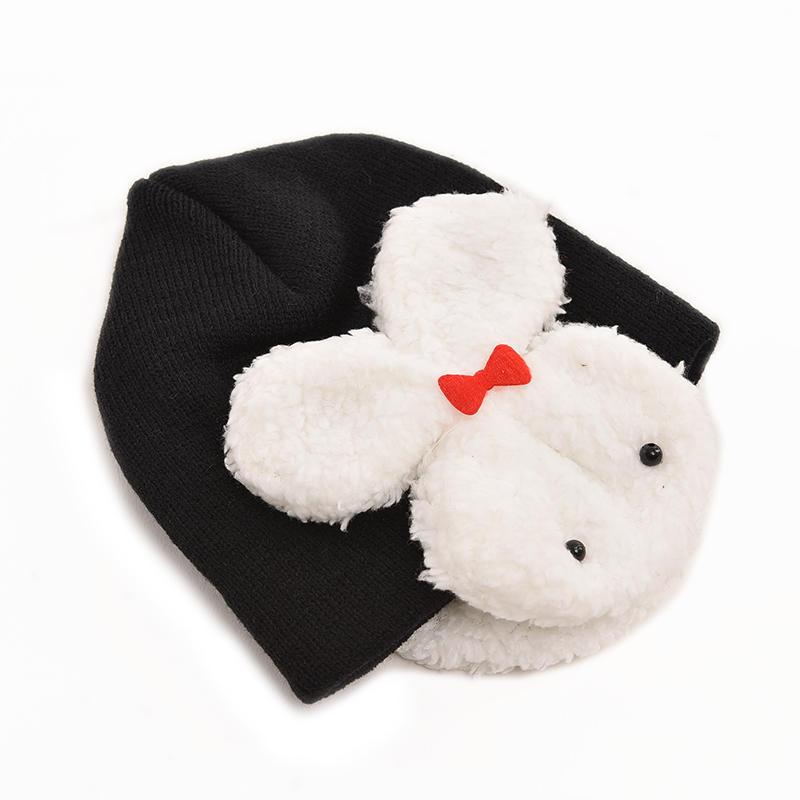1 X bebé conejo sombreros niño niños invierno oído aleta gorro ...