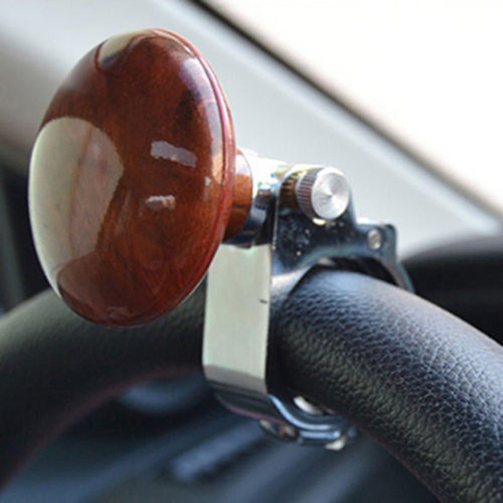 Designed For Auto Car Truck Steering Wheel Aid Power Handle Spinner Knob Alloy Automobiles & Motorcycles