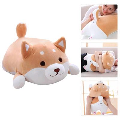 35CM Cute Fat Shiba Inu Corgi Doll Pillow Dog Plush Toy Stuffed Kawaii Cartoon
