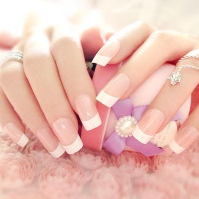 Gefalschte Voller Nagel Exotischen Schale Manikure Falsche Finger