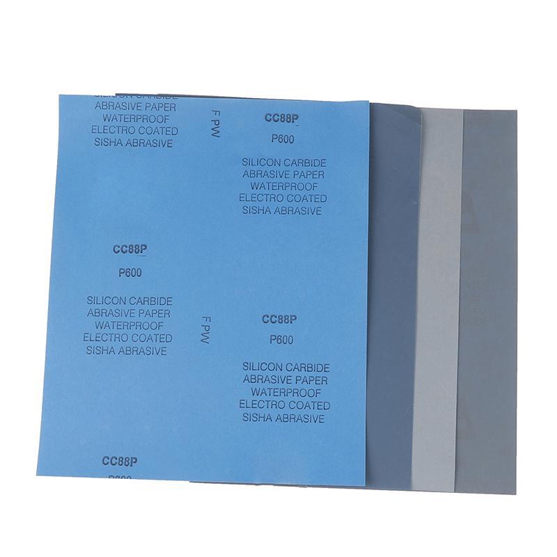 75*100mm Self Adhesive Sanding Paper Sheet Sandpaper Abrasive Dry Polishing Pads