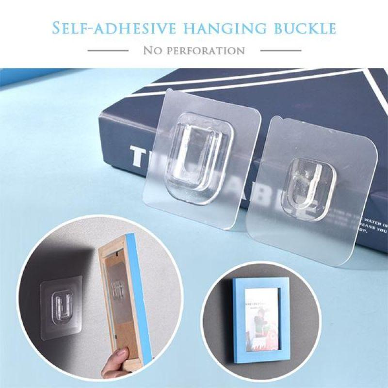 Bathroom Office /& Doors Use Self Adhesive Hooks Home Smart 12 Pack For Kitchen