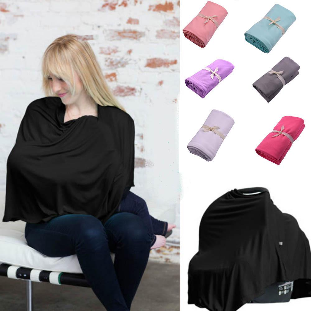 Baby Nursing Scarf Cover Up Apron for Breastfeeding Canopy Mum Udder Cover