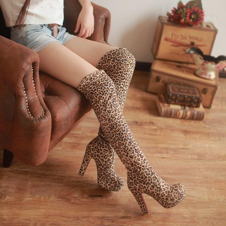 c6f158e25331 Sexy Women Shoes Red Bottom Suede Thigh High Boots Platform Chunky Thick  Heels Over-Knee Boots-buy at a low prices on Joom e-commerce platform