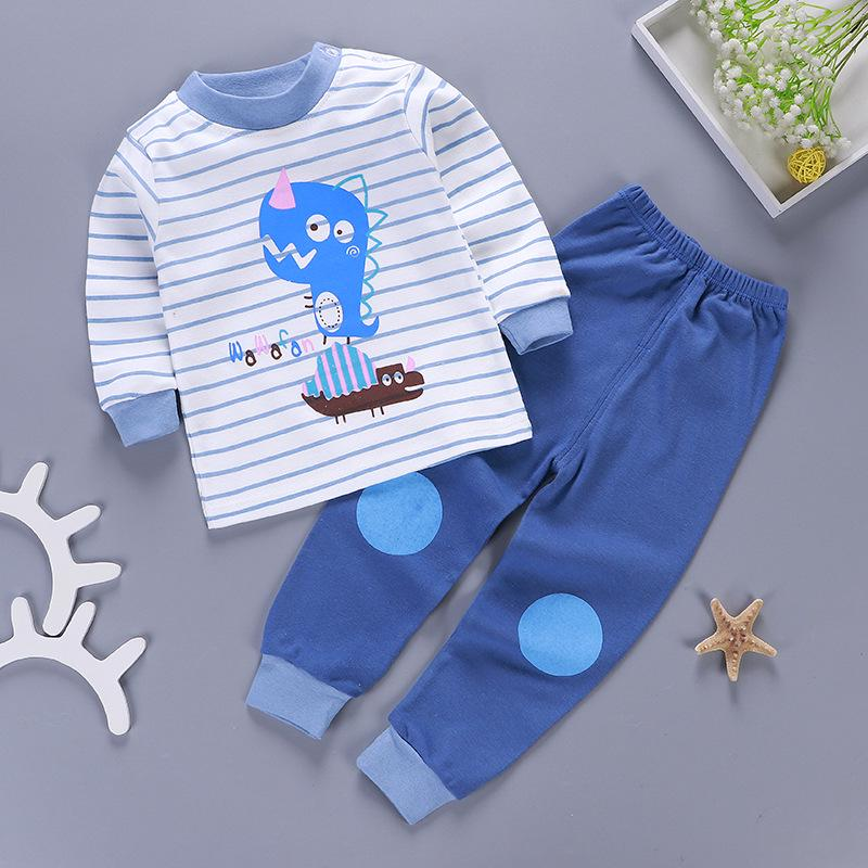 Details about  /2PC Toddler Baby Kids Girls Boys Cartoon Pajamas Sleepwear Top Pants Set Clothes