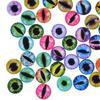 200pcs 10mm Joggle Bewegliche Schwarz Augen Wiggly Google Googly Scrapbooking