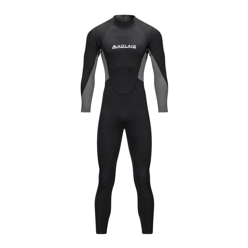 3mm Neoprene Plus Swimsuits Men SCR Triathlon Warm Wetsuit Scuba Dive Jumpsuits