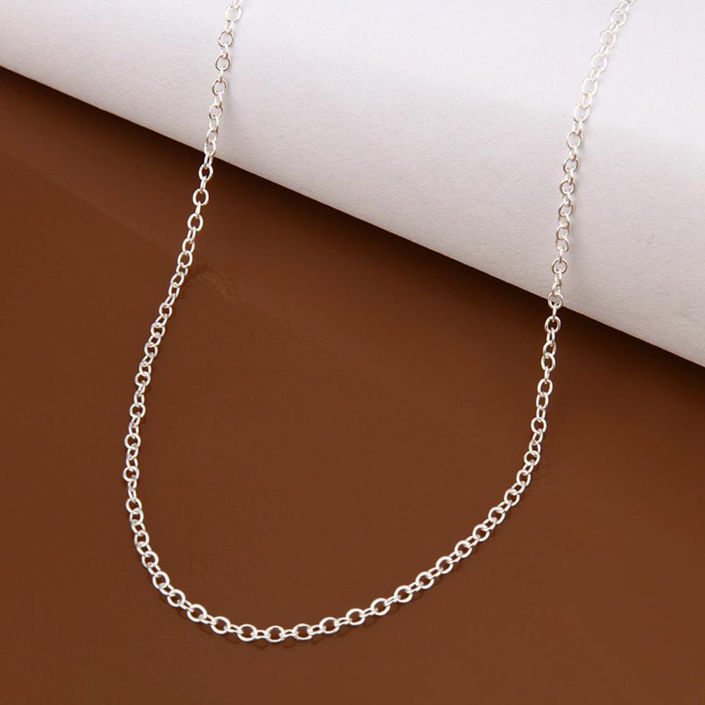 Yousheng 18/24inch минималистский Серебряный покрывало ожерелье цепи DIY украшения решений аксессуар