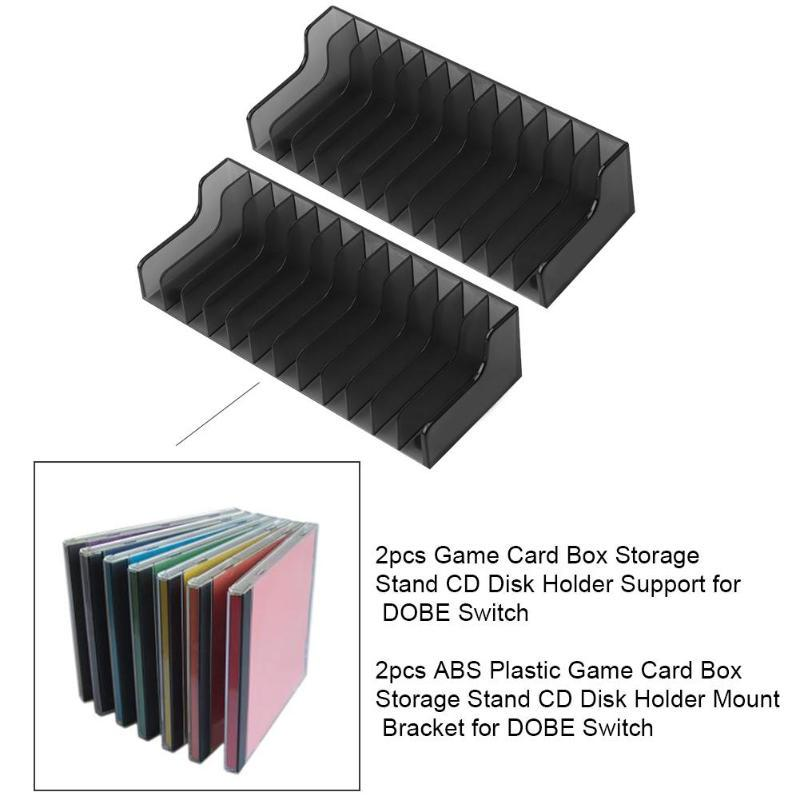 2pcs Game Card Box Storage Stand CD Disk Holder Support for DOBE Switch-buy at a low prices on Joom e-commerce platform