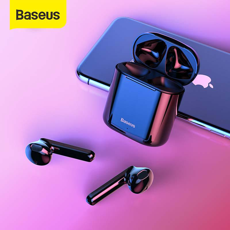 Baseus W09 Tws Wireless Bluetooth Earphone Hifi Sport In Ear Stereo Mini Earbuds With Charging Box Buy At A Low Prices On Joom E Commerce Platform