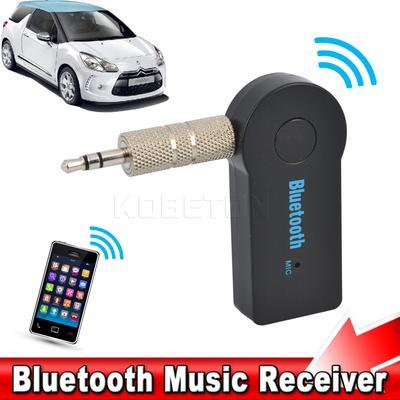 Mini Wireless Aux Bluetooth Car Kit Audio Adapter Receiver 3.5mm Hands Free Jack