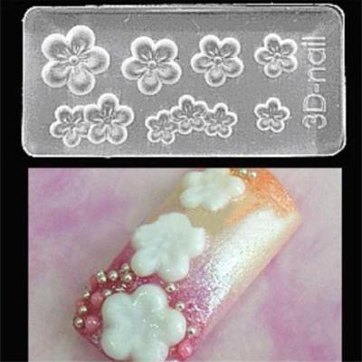 3d Acrylic Nail Mold Leaves Shape Nail Mould Nail Art Decoration Diy