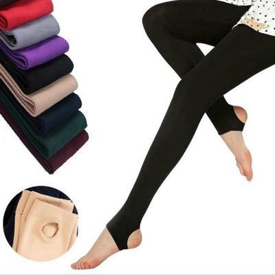 Fashion Women Slim Fit Safety Leggings Slimming Warm Cotton Pants