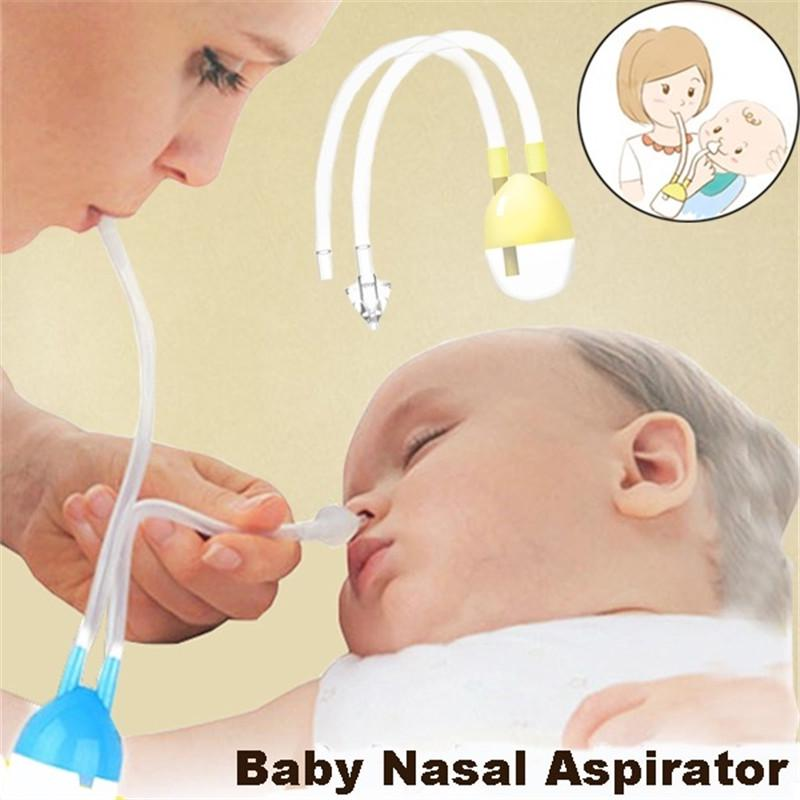 Buy New Born Baby Safety Nose Cleaner Vacuum Suction Nasal Aspirator at  affordable prices — free shipping, real reviews with photos — Joom