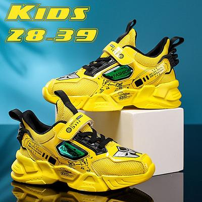 Big Children Running Shoes Boys Sneakers Breathable Shoes Kids Sport Shoes Light Outdoor Tennis Shoes Size