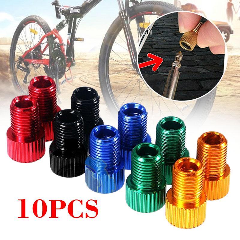 5~10 PCS Presta to Schrader Valve Adapter Converter Bicycle Bike Tire Tube US