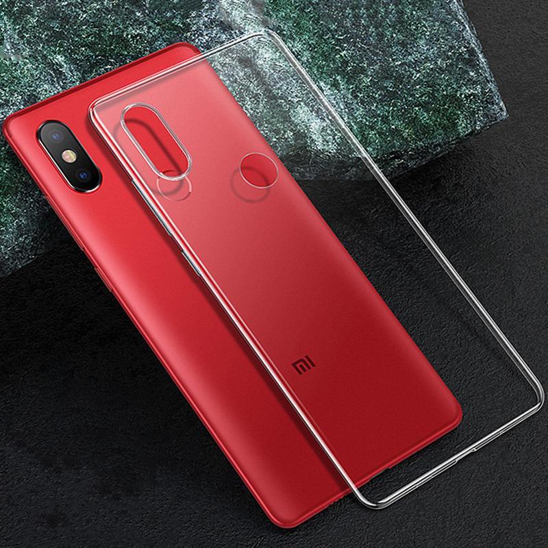 Прозрачный прозрачный мягкий чехол для Xiaomi Redmi 7A 7 6 6A 5A GO S2 Y2 K20 Note 5 7 8 Pro 5A Pro A2 Lite фото