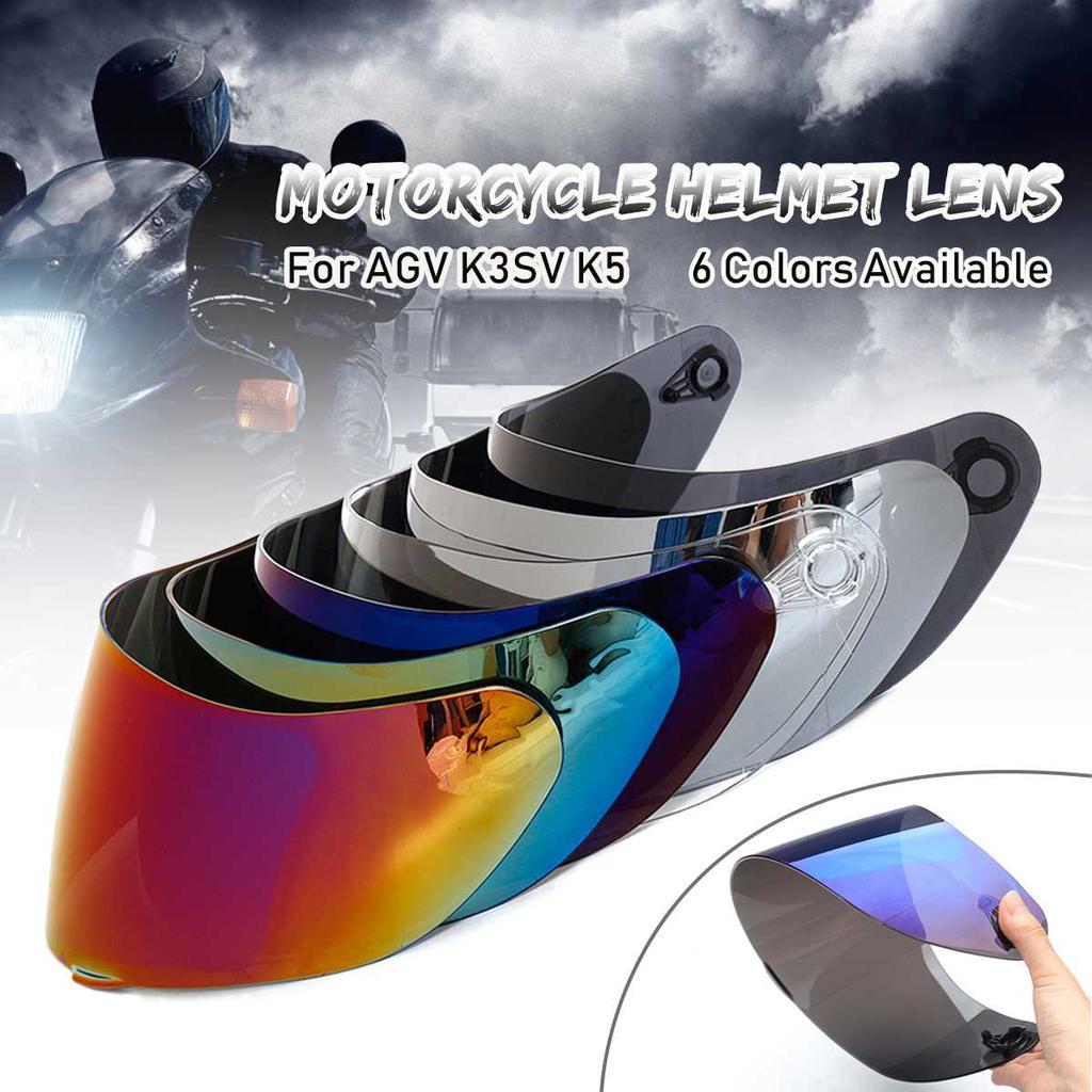 Anti-glare//UV Motorcycle Helmet Full Face Shield Lens Visor for AGV K1 K5 K3SV