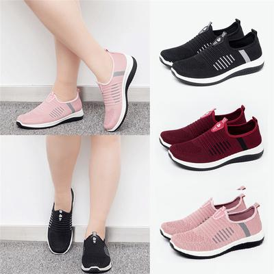 Womens Breathable Trainers Gym Sport Jogging Sneakers Mesh Non Slip Shoes Comfy