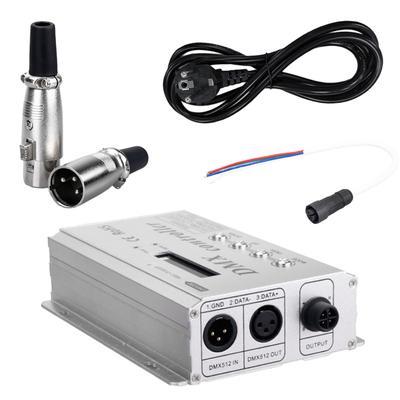 Lixada USB DMX Interface Controller Adapter LED DMX512