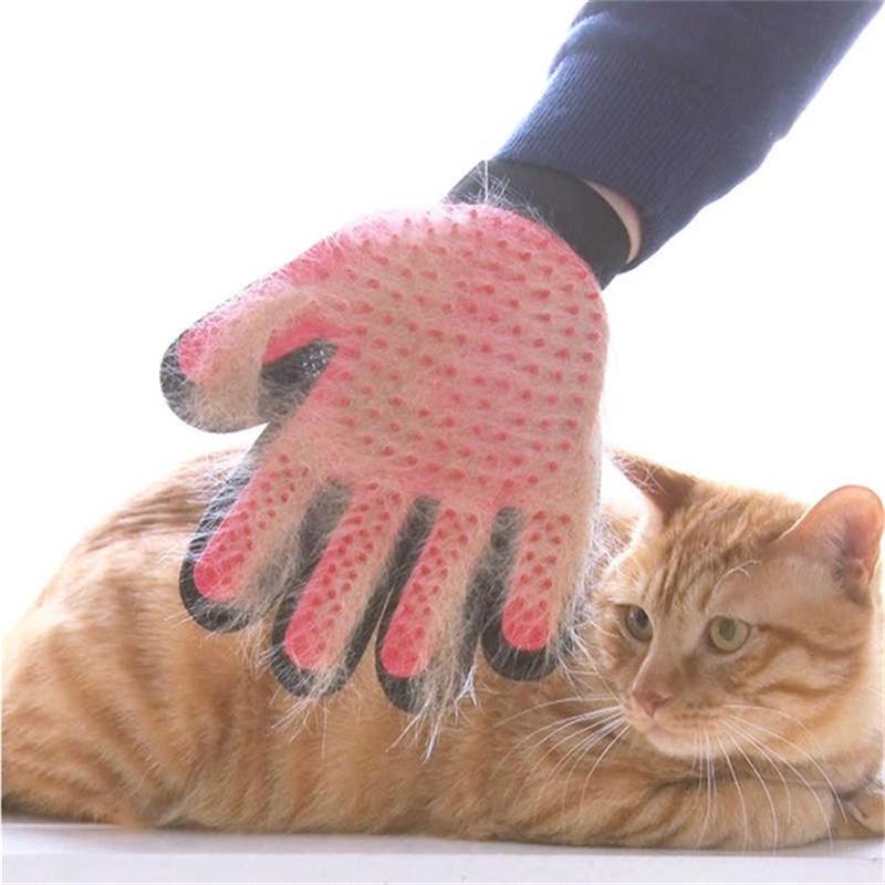 Практические силиконовые Pet собаки кошки уход очистка перчаток животное аксессуары фото