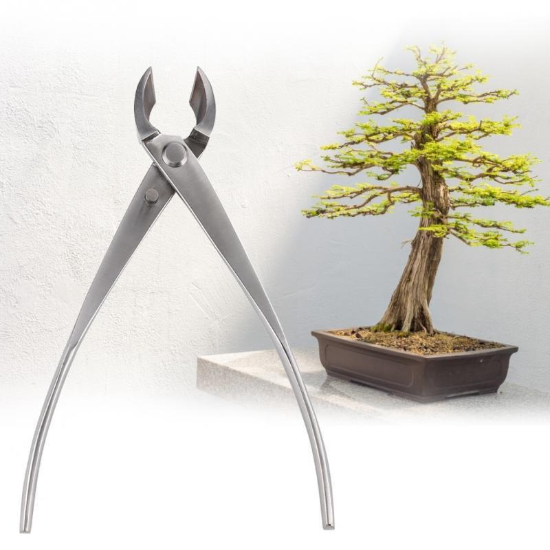 205 mm Coupe-branches Bonsai Outils en acier forgé Concave Cutter Outil