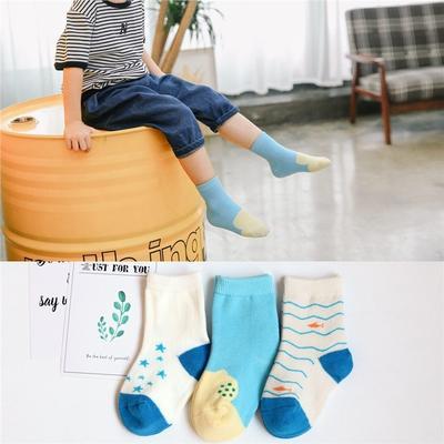 1b2491cb6 3Pairs Lot cor aleatória novo bebê meias crianças menino e menina joelho  alta algodão