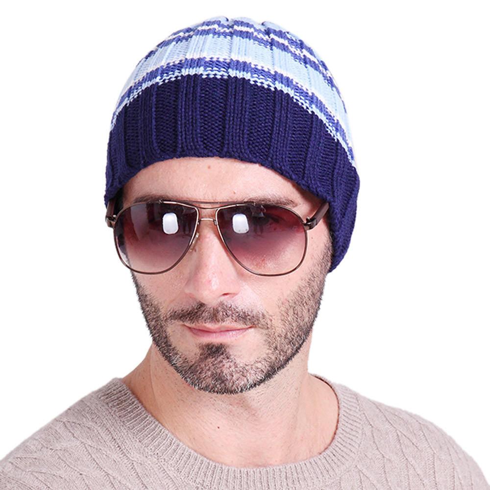 New Unisex Women Mens Knitted Knit Winter Warm Beanie Hat Cap Ski Hip-Hop Slouch