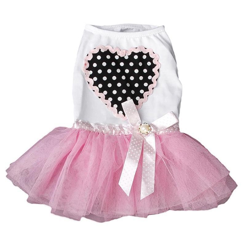 Ropa para mascotas perro Tutu Vestido de princesa de encaje falda de ...