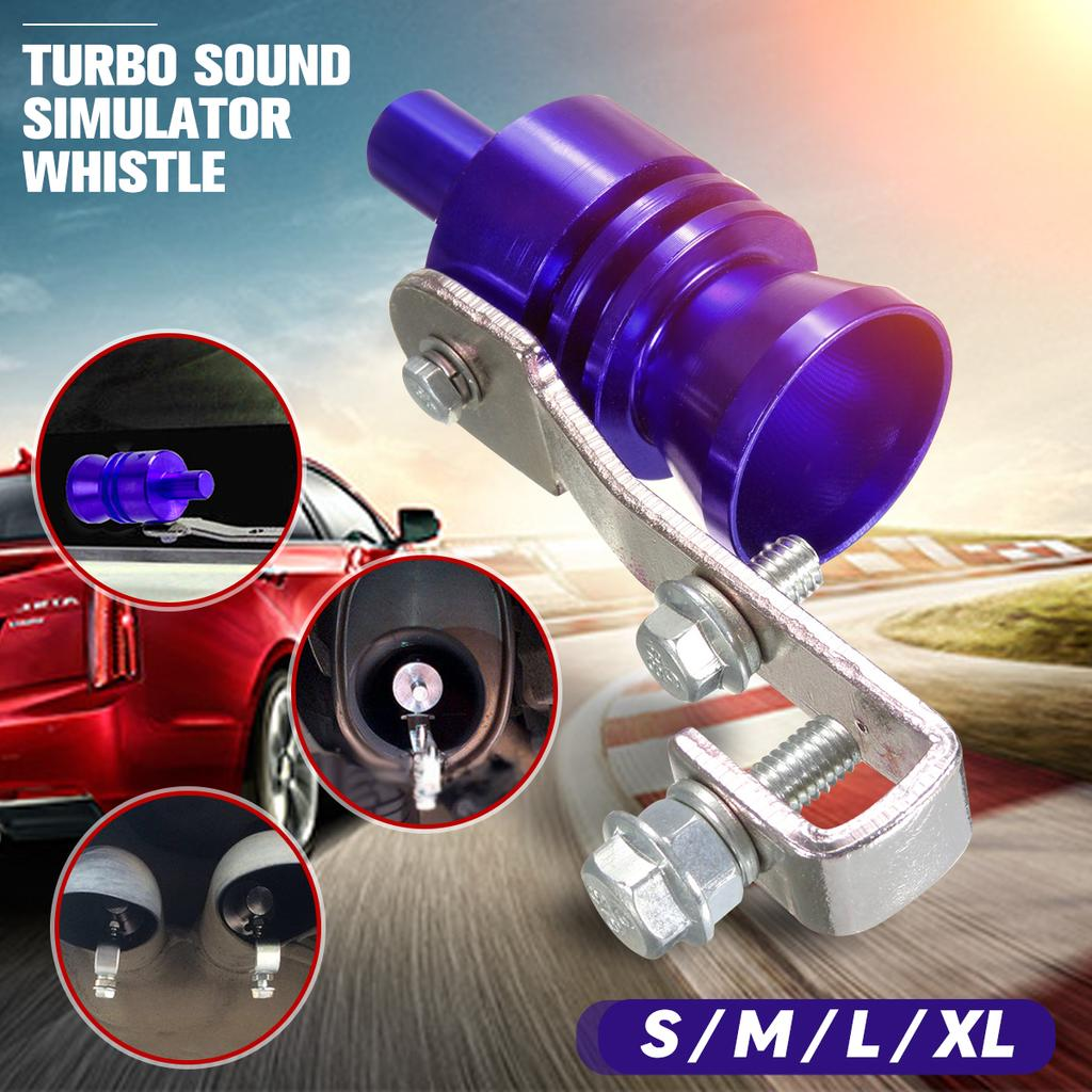 Car Motorcycle Exhaust Pipe Sounder Muffler Modified Turbine Whistle Accessories