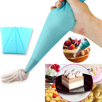 2* Icing  Piping Bag Pastry Creative Tool Silicone Piping Bag Cake Cream Decor