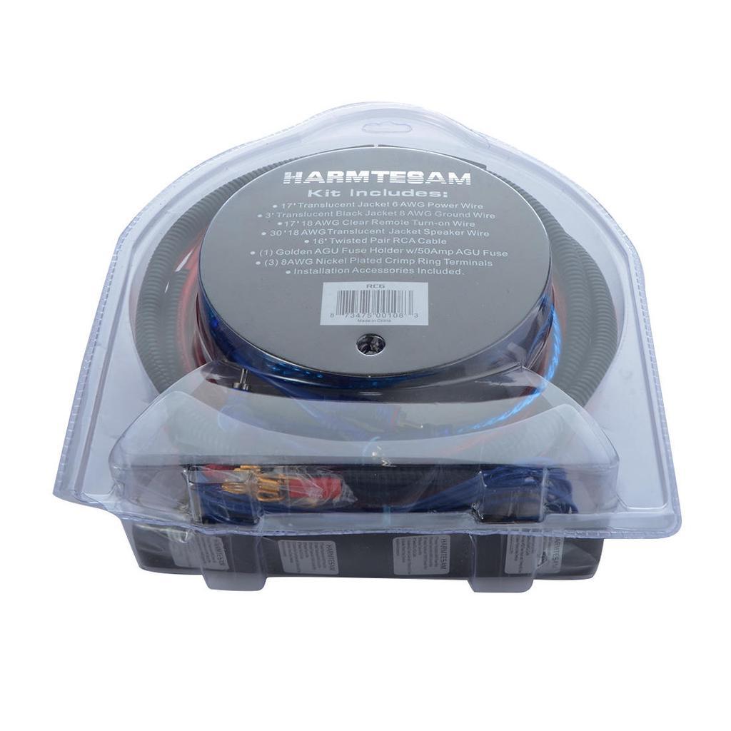 Audio Lautsprecher Kabel-Kit Kabel Verstärker Subwoofer ...
