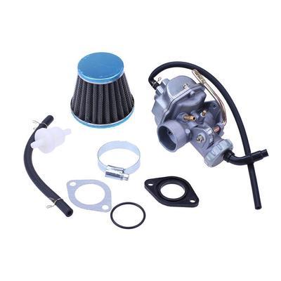 Carburetor for TAOTAO 110CC ATA110 B D F L ATV Carburetor Assembly with Air Filter Fuel Filter