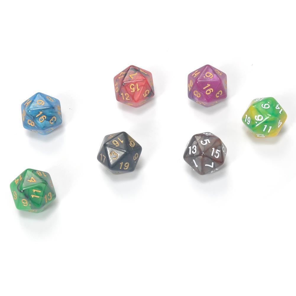 10pcs 6 seitige Würfel Nachtleuchtende 6 Würfel für D /& D TRPG Dungeons