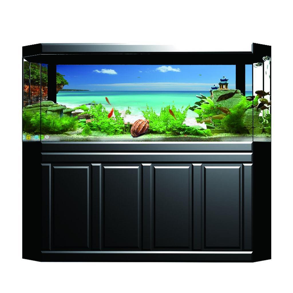 600MM  x 400MM Aquarium//Fish Tank Wall Sticker Or Background 174
