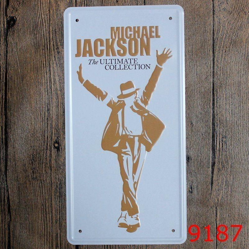 Metal Tin Sign Michael jackson Decor Bar Pub Home Vintage Retro Poster Cafe ART