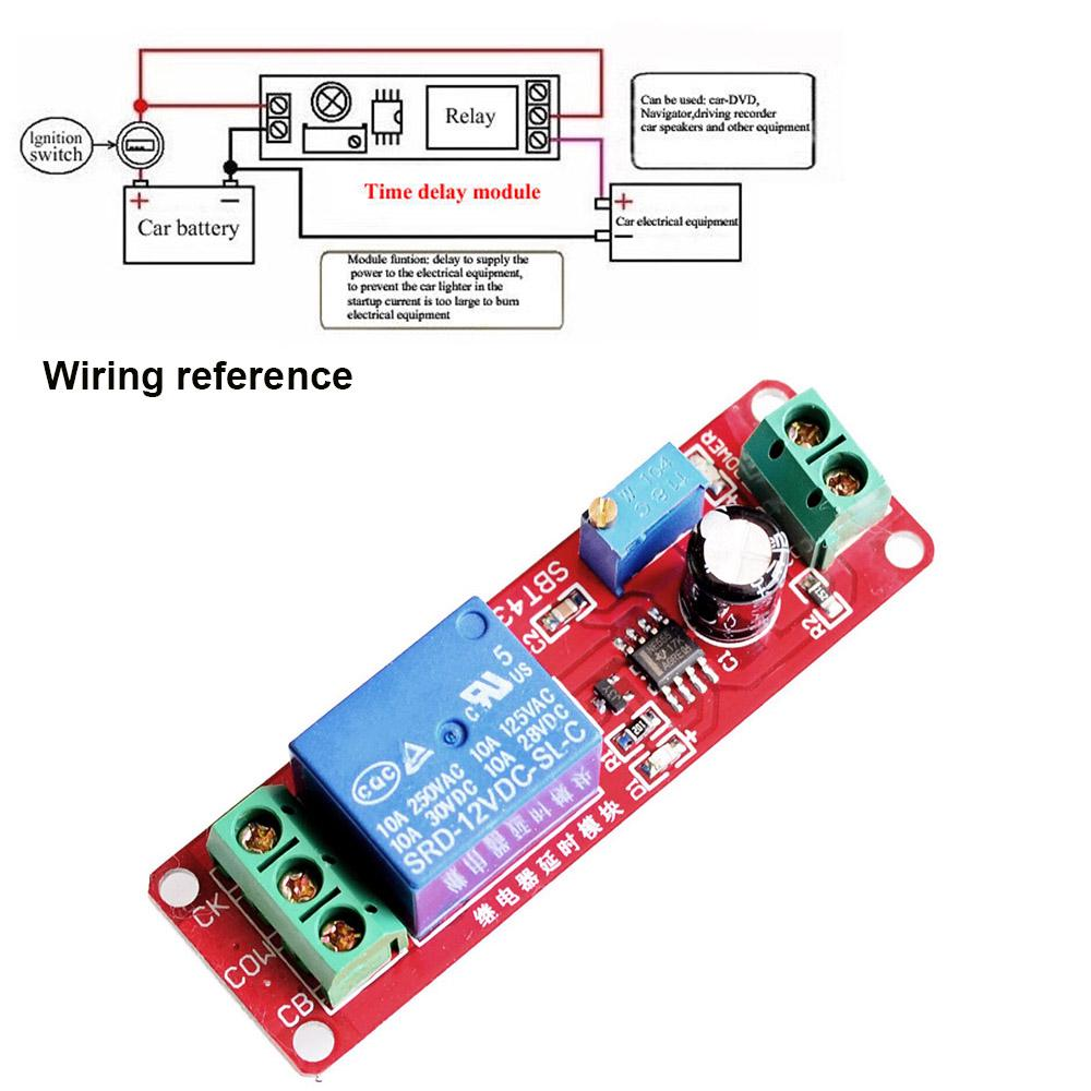 Dc 12v Arduino Board Turn On Off Delay Module Relay Shield Timer Power With 2 Of 11