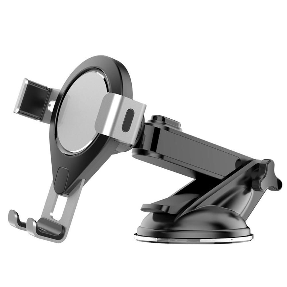 360° Rotable Car Off-Road interior Mount Phone Holder Bracket With 2-USB Charger