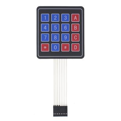 12Key Membrane Switch Keypad 3 x 4 Matrix Keyboard Module Membrane Switch Key BE