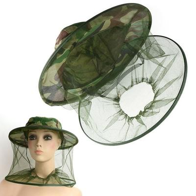 Brave Insect Bee Mosquito Resistance Bug Net Mesh Head Face Protector Cap For Outdoor Hunting Camping Sports Caps