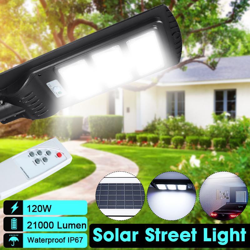 200//400//800//1000W Solar Infrared Motion Sensor Wall Lamp Garden Yard Flood Light